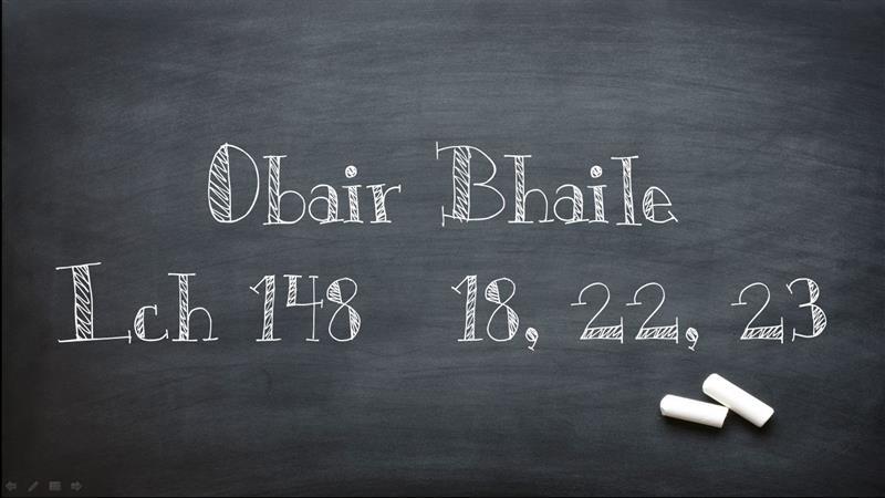 Obair Bhaile an Lae