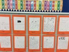 Look at Our Writing Wall!