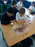 Making Our Own Rosary Beads