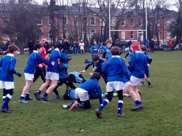 5th Form Rugby versus St.Mary's