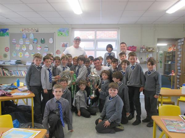 A Visit from Dan Leavy & James Ryan!