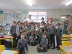 A Visit from Dan Leavy & James Ryan!