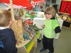 Look at our Dinosaur shop