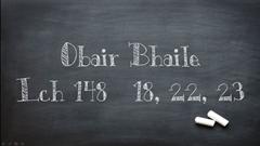 Obair Bhaile