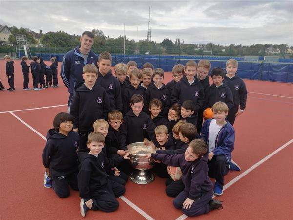 Sam Maguire in St. Michael's College