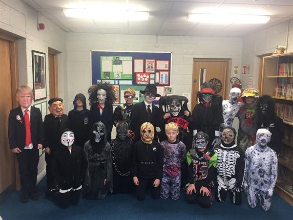 Happy Halloween from Fourth Form 1!