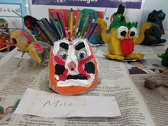 Halloween Clay Monsters