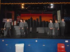 Preparations for the Christmas Play