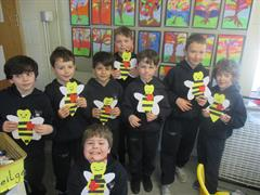 Our Valentine Bumblebees