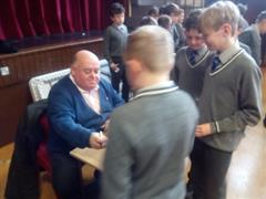 A visit from author, Gerard Siggins