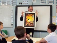 Art with Fr.Paddy