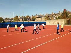 Enjoying PE and Fun in the Sun