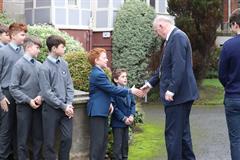 Lord Mayor visits Junior School