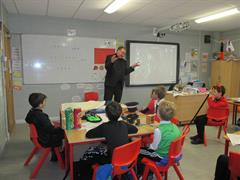 A visit from Fr. Paddy