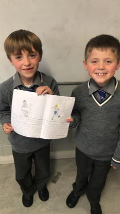 Budding Authors in First Form