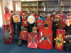 Roman Shield Project