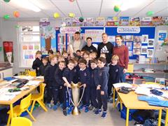 A Visit from Dan Leavy. Luke McGrath and Ross Molony