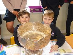 Our Victorious Champions Visit the Junior School