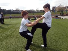 Gymnastics with Ms. Doyle
