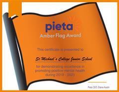 Our Amber Flag Award