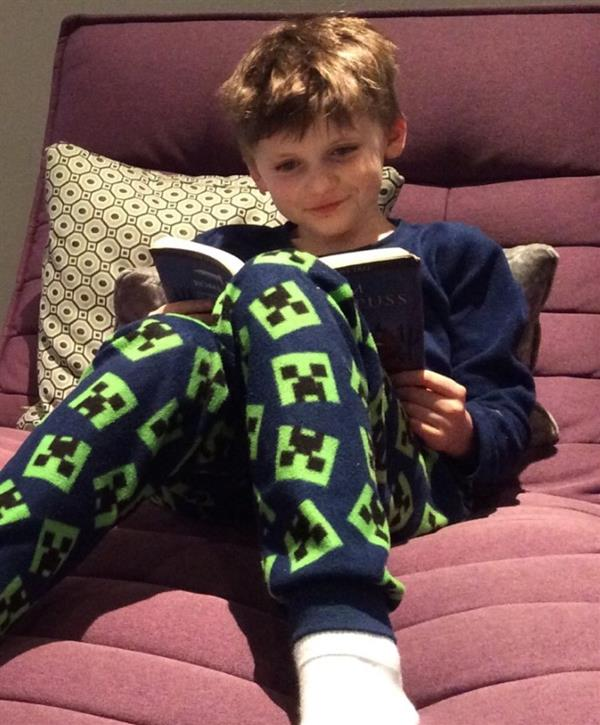 Getting Stuck into Reading During Time at Home