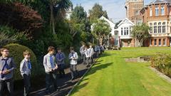 Educational Walk to St. Michael