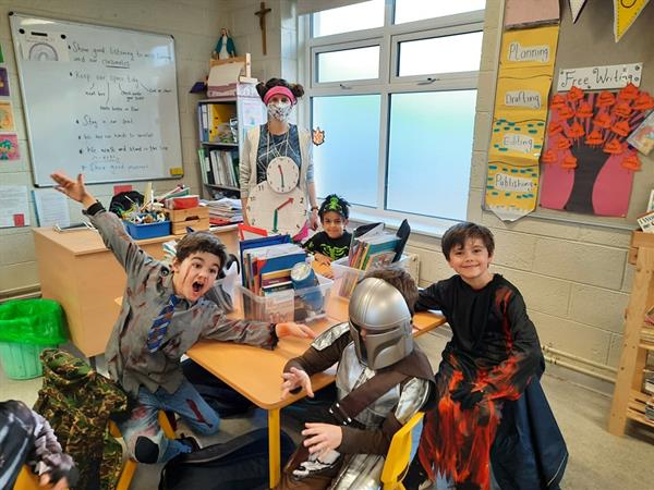 Happy Halloween from Second Form!