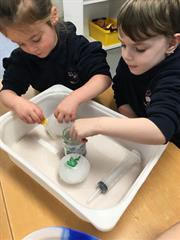 Cracking Ice Dinosaur Eggs