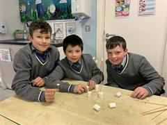 Science Week: Marshmallow Towers