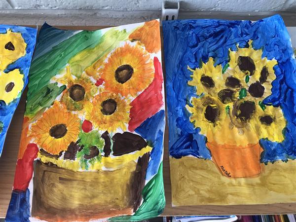Vincent Van Gogh's Sunflowers