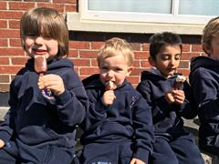 Ice creams for St. Michael