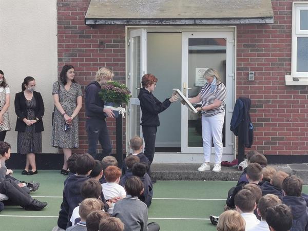 Saying Goodbye to Mrs. Hogan