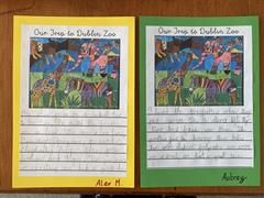 Writing About Our Trip to the Zoo