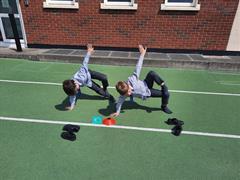 Yoga Poses and Working on Balance