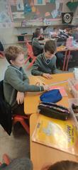 Maths: creating angles using sticks