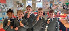 Ice-cream to celebrate St. Michael