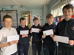 Pen Pals in Second Form